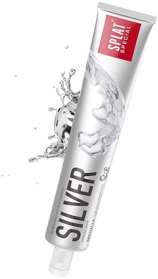 SPLAT Silver 75ml - odświeżająco-antybakteryjna pasta do zębów