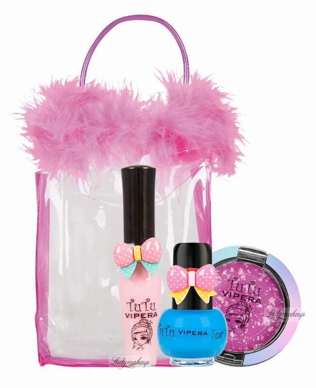 VIPERA - Tutu Set - Zestaw prezentowy kosmetyków dla dzieci w kosmetyczce - 23