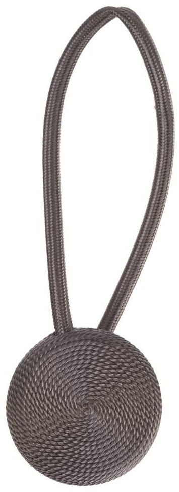 Upinacz do zasłon z magnesem DOLLY taupe 22 cm INSPIRE