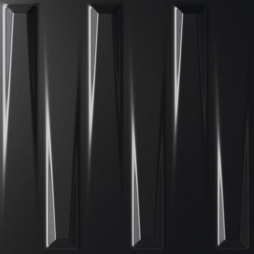 Baldocer Dutton Black Satin 25x25 płytki dekoracyjne