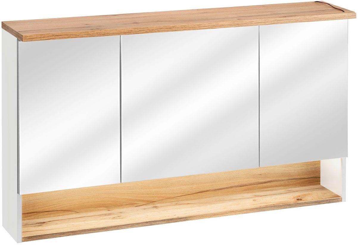 Szafka łazienkowa z lustrem Monako 4X - Biały