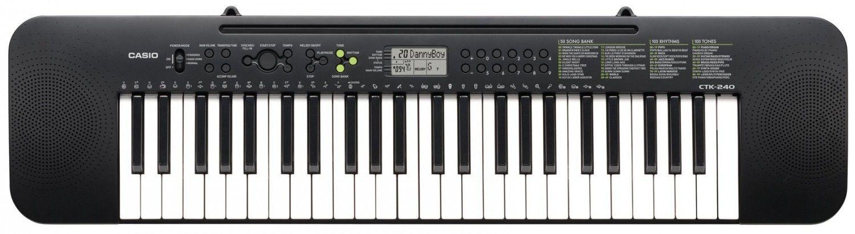 Casio CTK-240 - keyboard + zasilacz + książeczki edukacyjne - Raty 30x0%!
