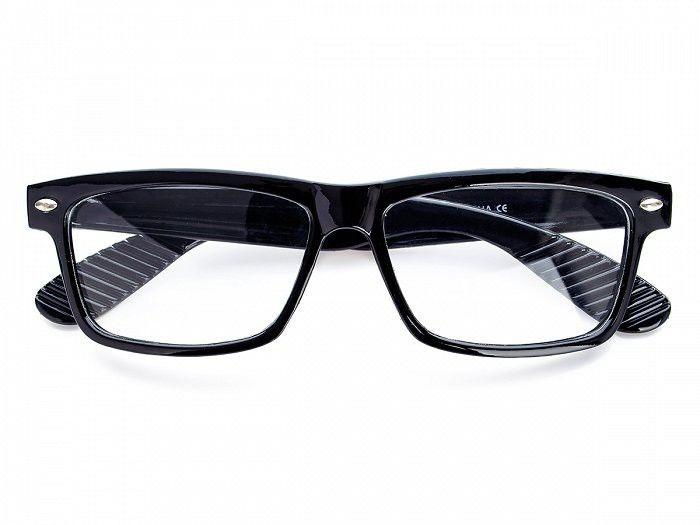 Okulary z filtrem Antyrefleks zerówki nerdy xl-271a czarne