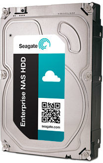Dysk Seagate Iron Wolf, 3.5'', 6TB, SATA/600, 5400RPM, 256MB cache