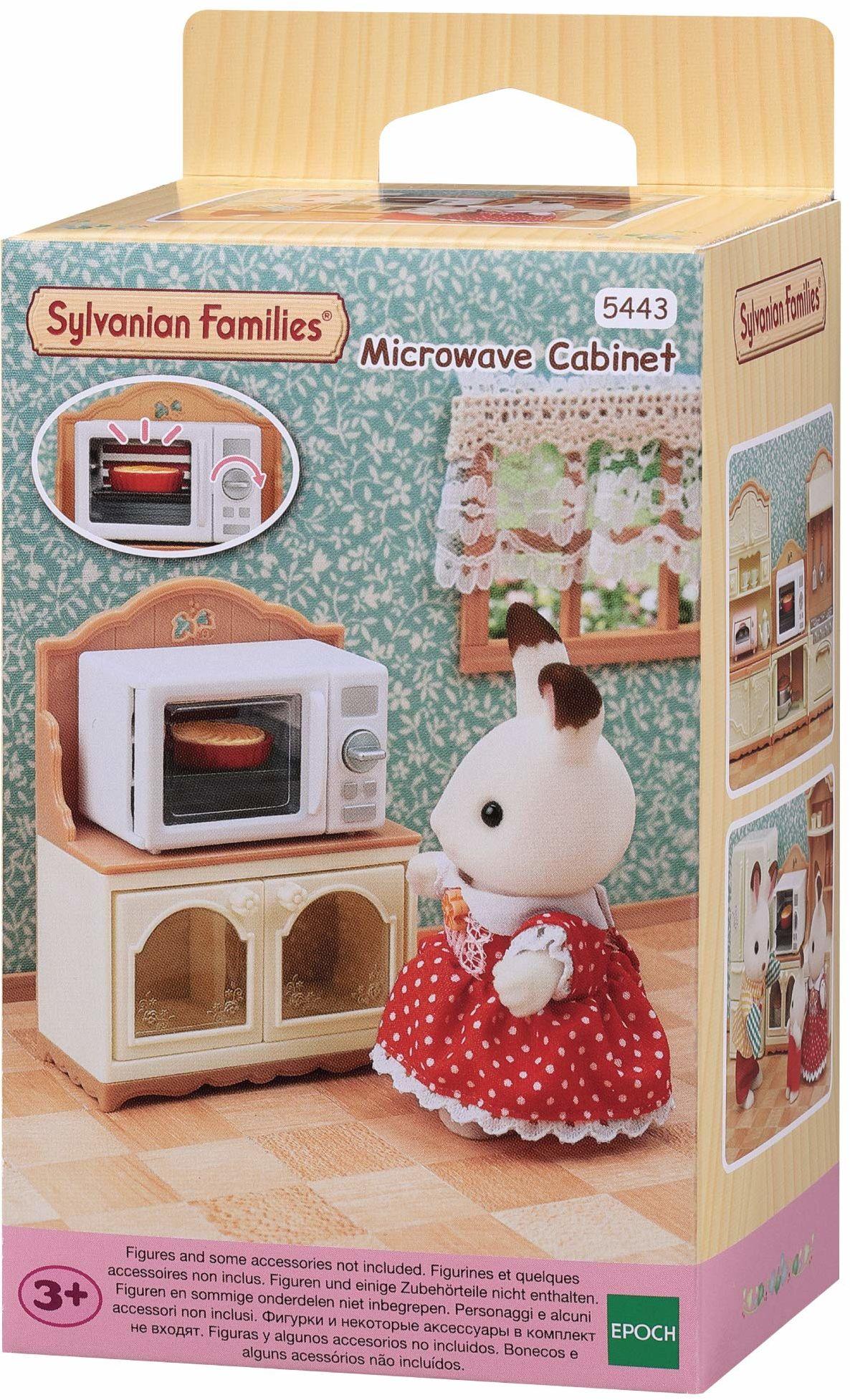 Sylvanian Families 5443 szafka do mikrofalówki akcesoria do domu dla lalek