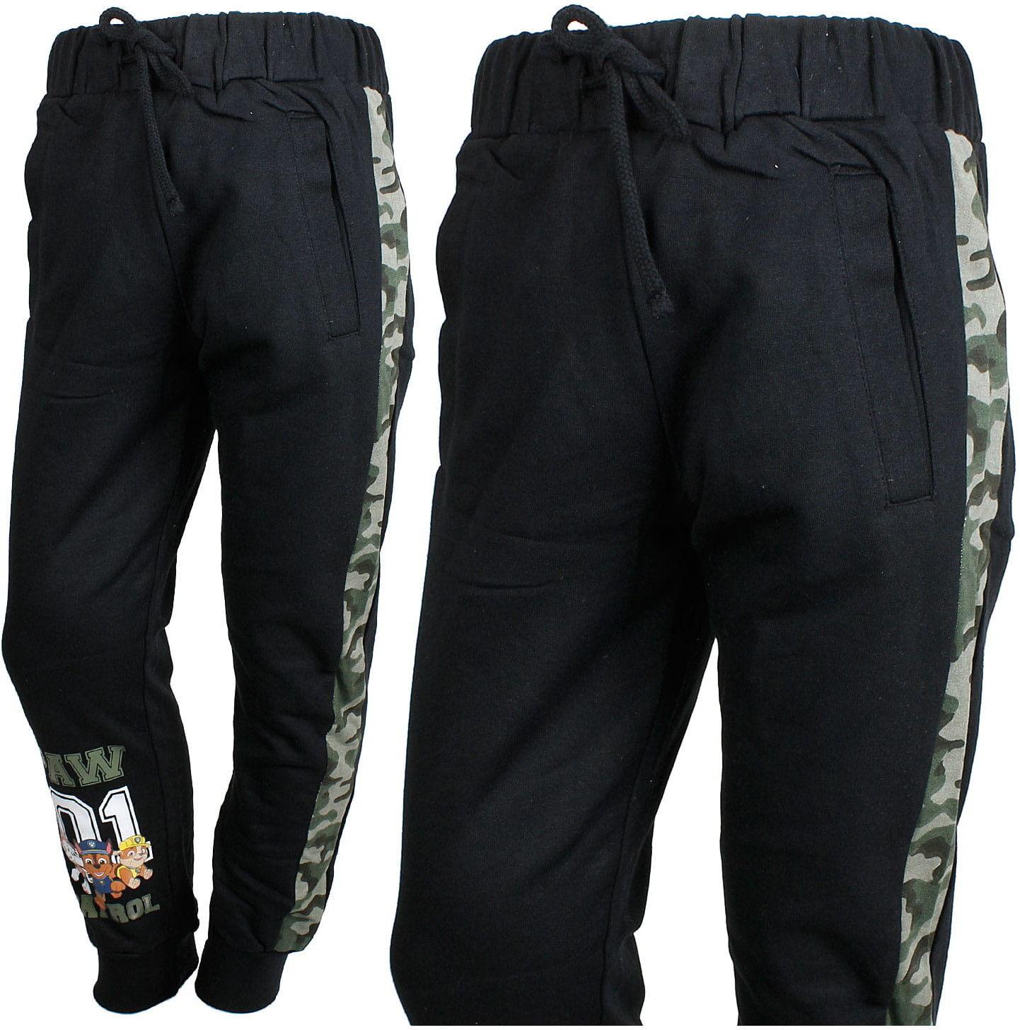 Spodnie dresowe chłopięce PSI PATROL lekko ocieplane