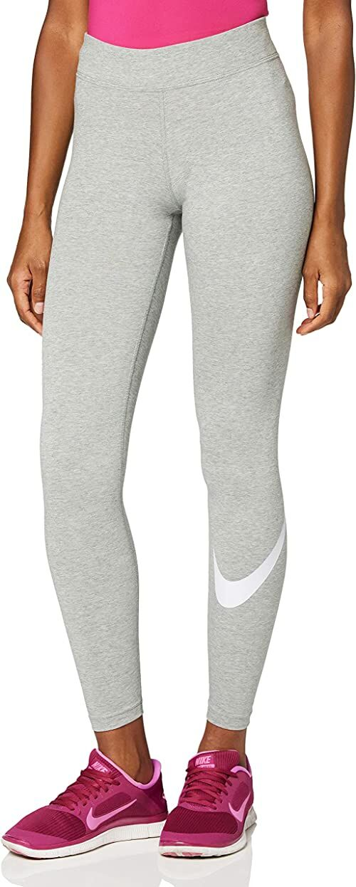 Nike Damskie spodnie sportowe Nike Essential Track Dk Grey Heather/Blanc S
