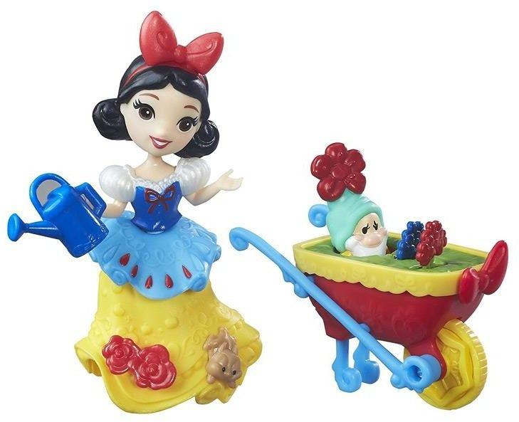 Disney mini Królestwo - Królewna Śnieżka w ogrodzie B7163 B5334