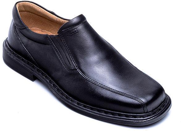 Mokasyny męskie Escott 875 Czarne