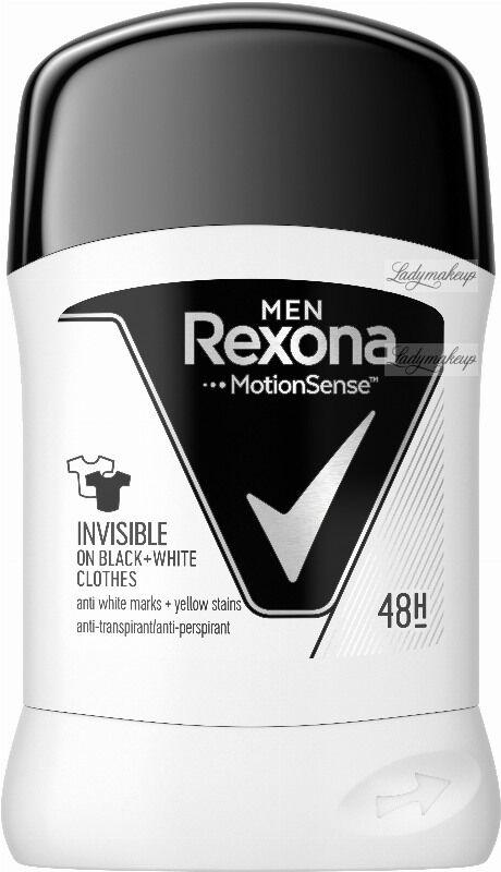 Rexona - Men - Invisible - Anti Perspirant 48H - Antyperspirant w sztyfcie dla mężczyzn - 50 ml