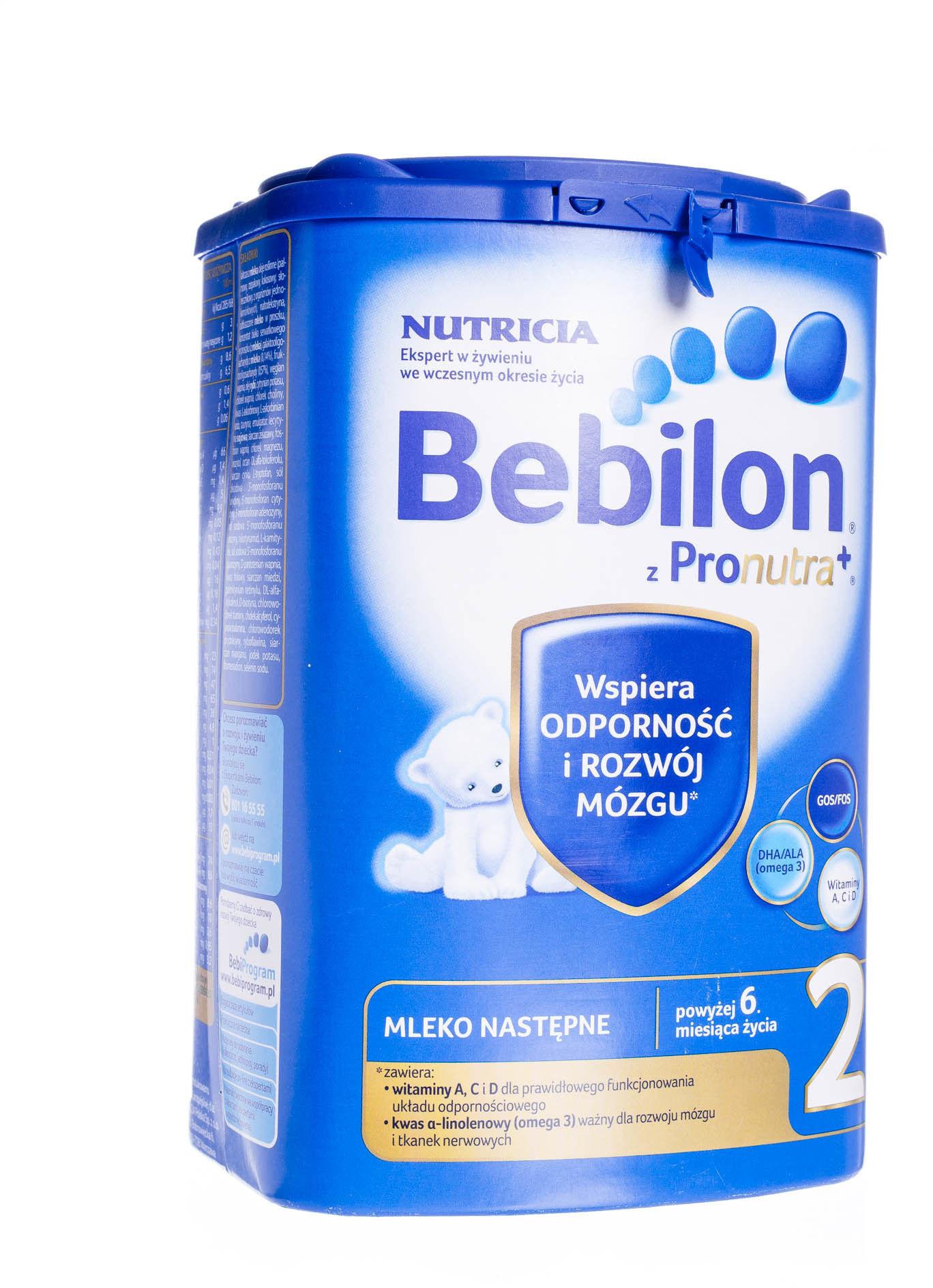 Bebilon 2 mleko następne po 6 miesiącu życia proszek 800 g