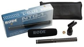Rode NTG1 - mikrofon kierunkowy shotgun Rode NTG1