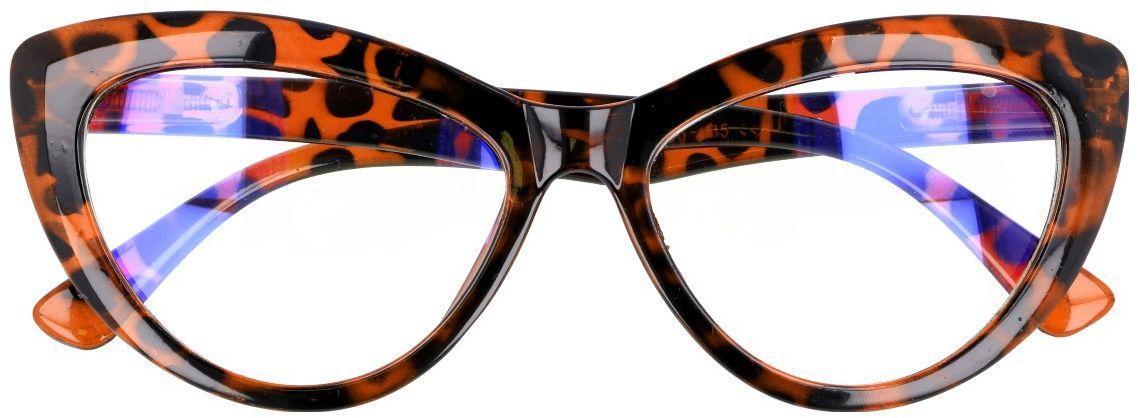 Kocie oczy Antyrefleks Zerowki okulary z filtrem Panterka 2286D