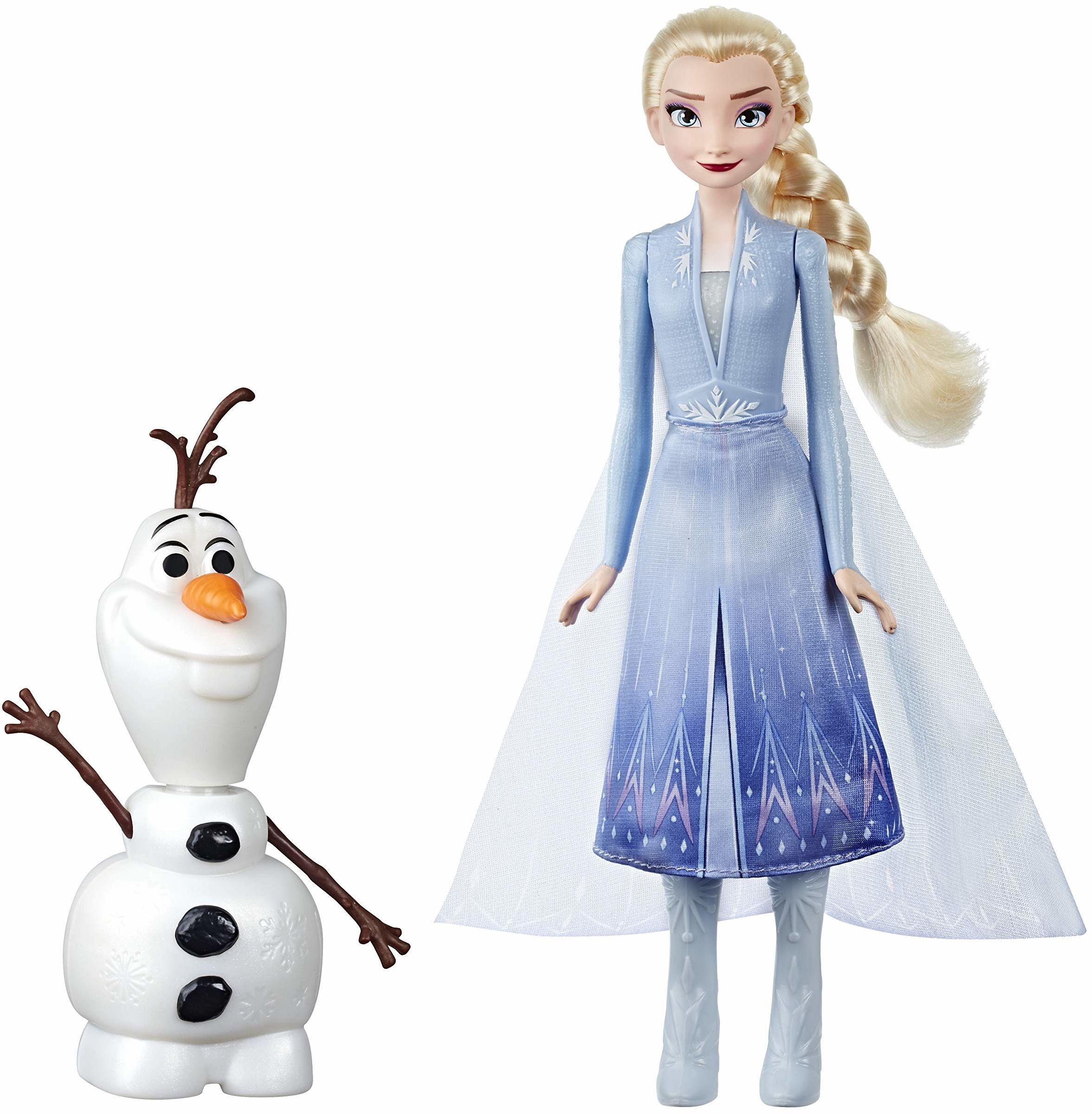 Disney Królowa lodu magiczna zabawa z Elsa & Olaf, dźwignia Elsas i Olaf porusza się, mówi i świeci się, inspirowana filmem Disney''a Królowa lodu 2  zabawka dla dzieci od 3 lat
