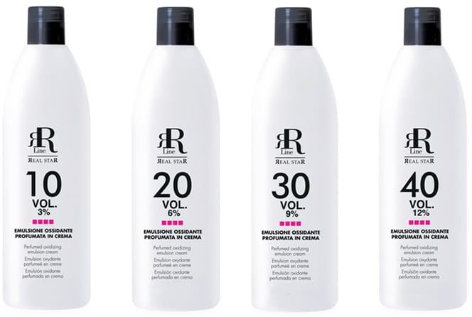 RR LINE aktywator oksydant woda utleniona do farb - 150 ml