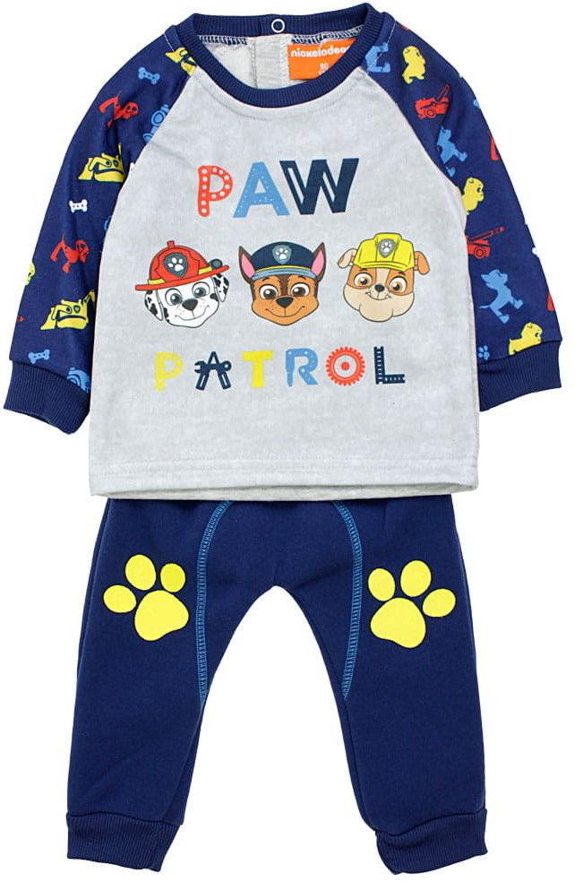 Dres niemowlęcy ocieplany PSI PATROL bluza i spodnie