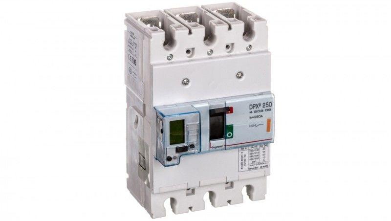 Wyłącznik mocy 250A 3P 25kA DPX3 250 EL 420309