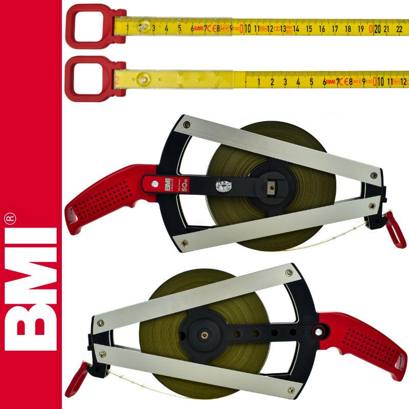 Taśma powlekana poliamidem 50m ISOLAN ERGOLINE BMI