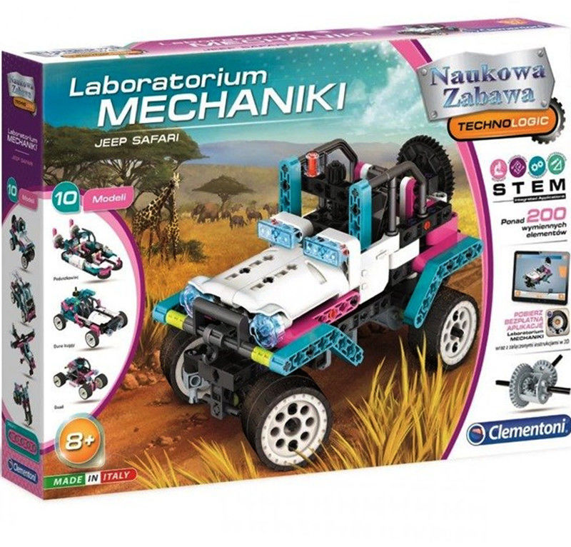 Clementoni - Laboratorium mechaniki Jeep Safari 50123