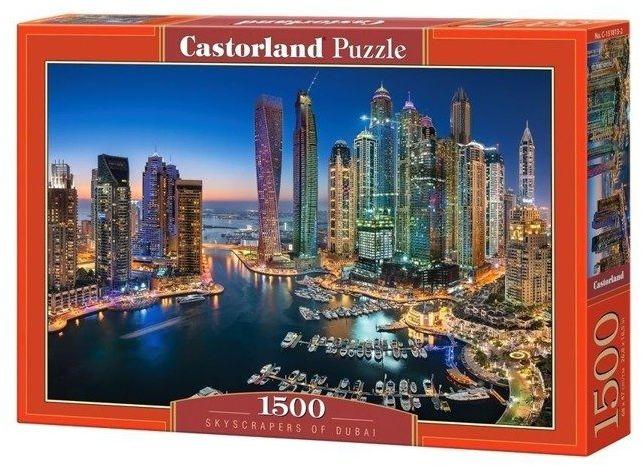 Puzzle 1500 Skyscrapers of Dubai CASTOR - Castorland
