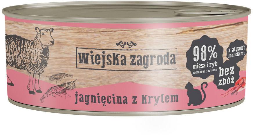 Wiejska Zagroda Jagnięcina z Krylem 85g