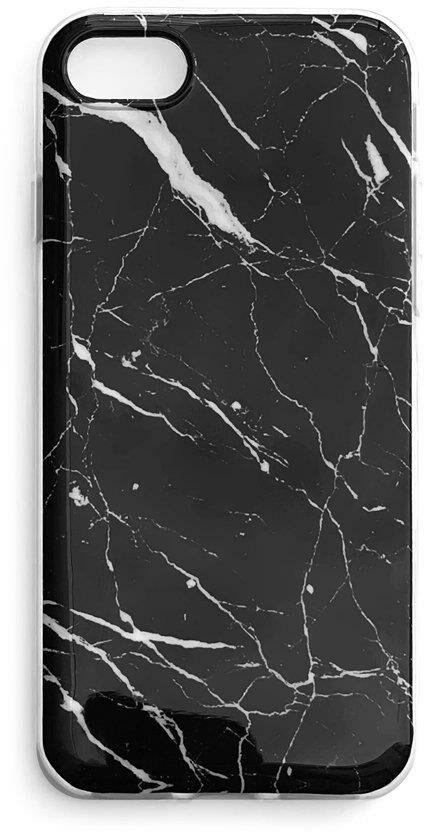 Wozinsky Marble żelowe etui pokrowiec marmur Samsung Galaxy A41 czarny