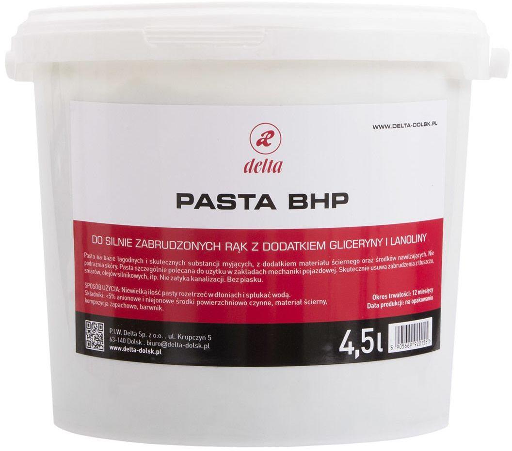Pasta BHP do mycia zabrudzonych rąk - DELTA 4,5 kg