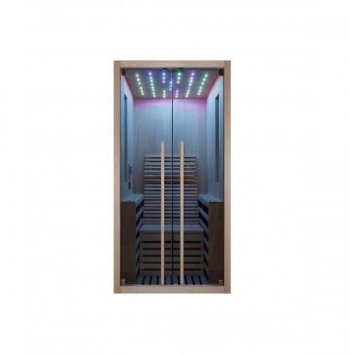 CARBON 1 Sauna na podczerwień 1-osobowa 100x130 cm F10100
