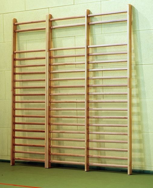 Drabina gimnastyczna podwójna 242x180 cm