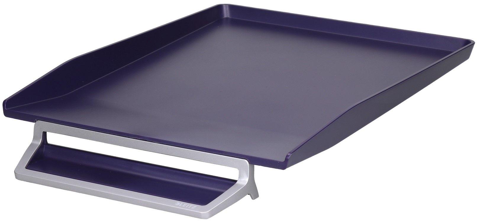 Półka na dokumety i długopis A4 niebieska Style Leitz