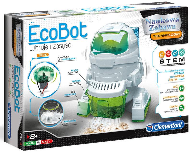 Clementoni - EcoBot wiruje i zasysa 50061