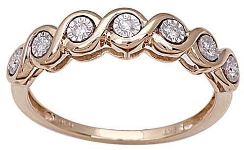 Złoty pierścionek PXD3811 - Diament