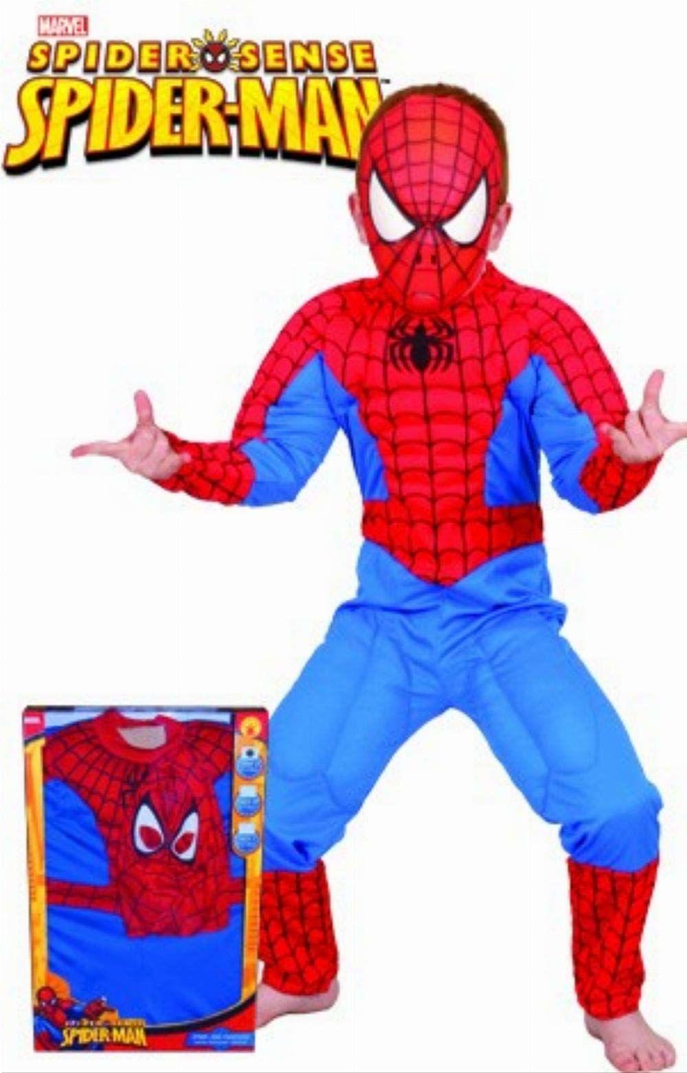 Rubie ''s  kostium dziecięcy Spiderman musculoso w pudełku (880061-l)