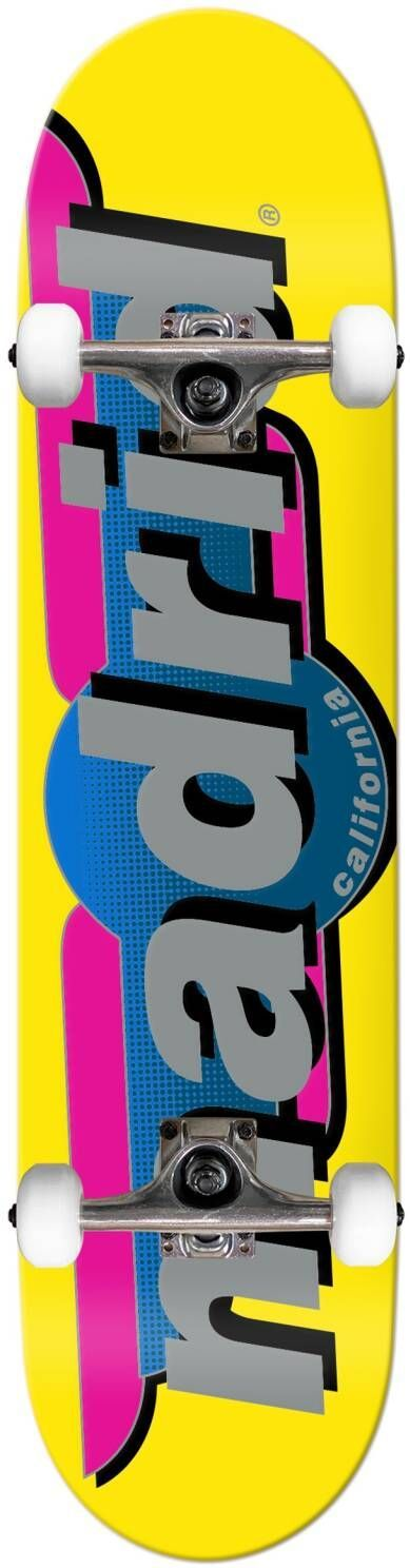 complet skateboard MADRID STREET COMPLETE Yellow