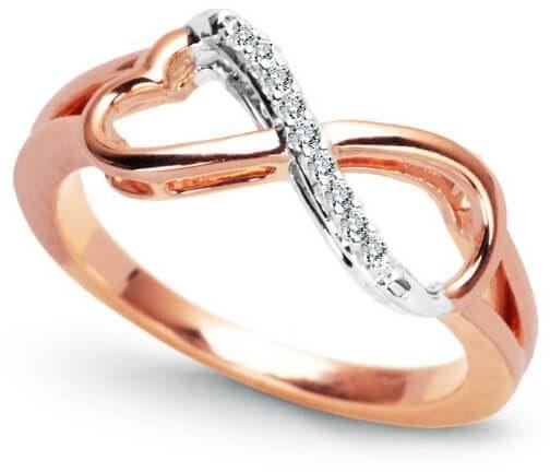 Złoty pierścionek PXD3907R - Diament
