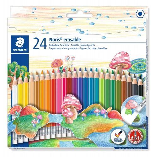 Kredki ołówkowe STAEDTLER Noris Club usuwalne (24 kolory ) 144 50NC24