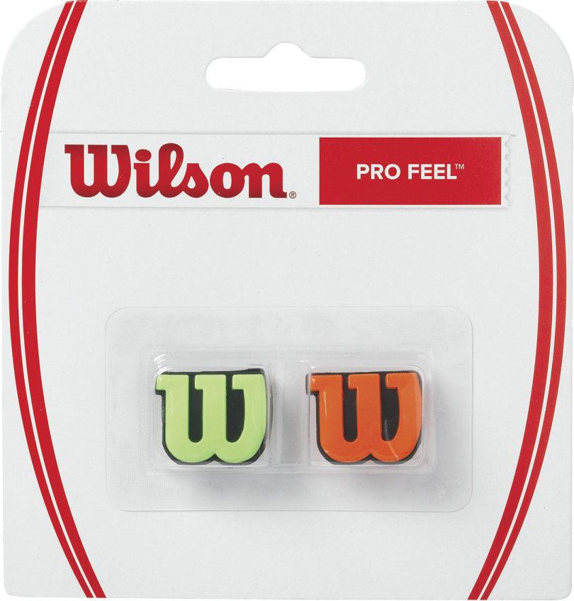 Wilson Wibrastop Pro Feel - green/orange WRZ538700