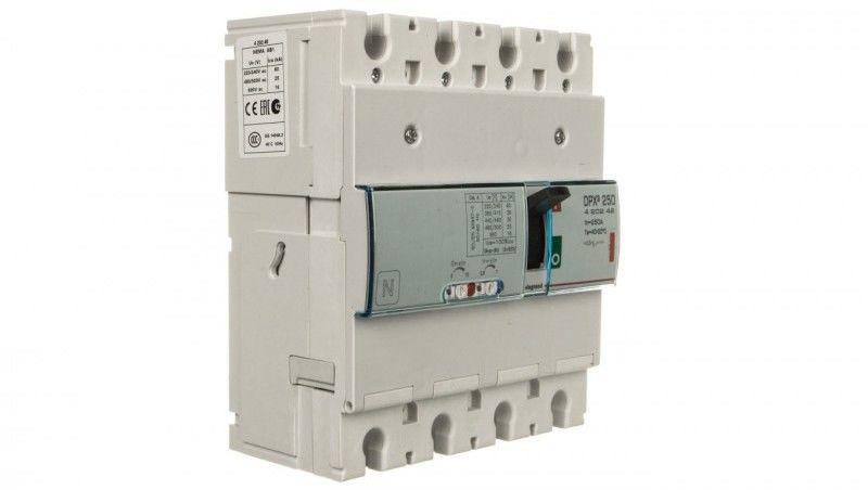 Wyłącznik mocy 4P 250A 36kA DPX3 250 420249