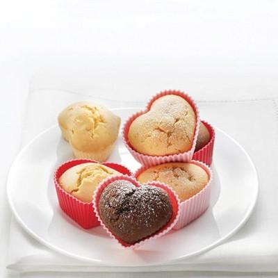 Foremki do muffinek  serca