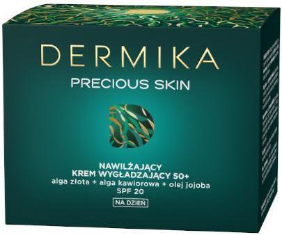 Dermika Precious Skin nawilżający krem wygładzający 50+ na dzień 50 ml