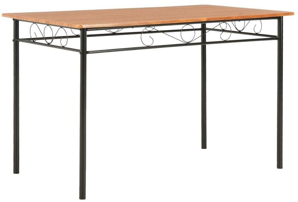 Stół do jadalni nowoczesny Barex  brązowy