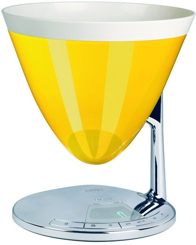 Casa bugatti - uma elektroniczna waga - żółta - żółty