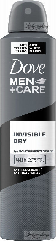 Dove - Men+Care Cool Invisible Dry 48H Anti-Perspirant - Antyperspirant w aerozolu dla mężczyzn - 250 ml
