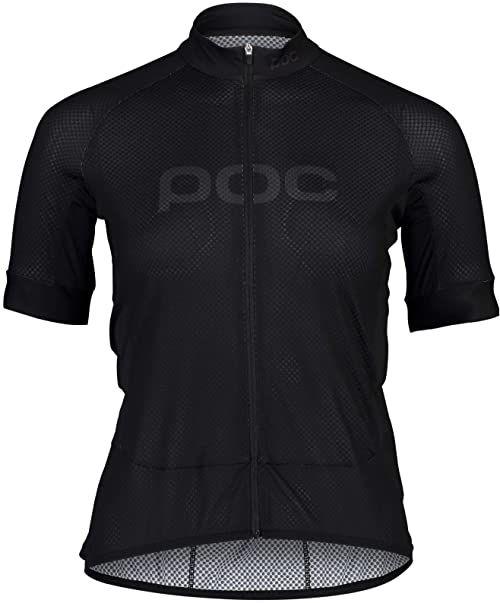 POC Damska koszulka z logo W''s Essential Road Uranium Black/Uranium Black XL