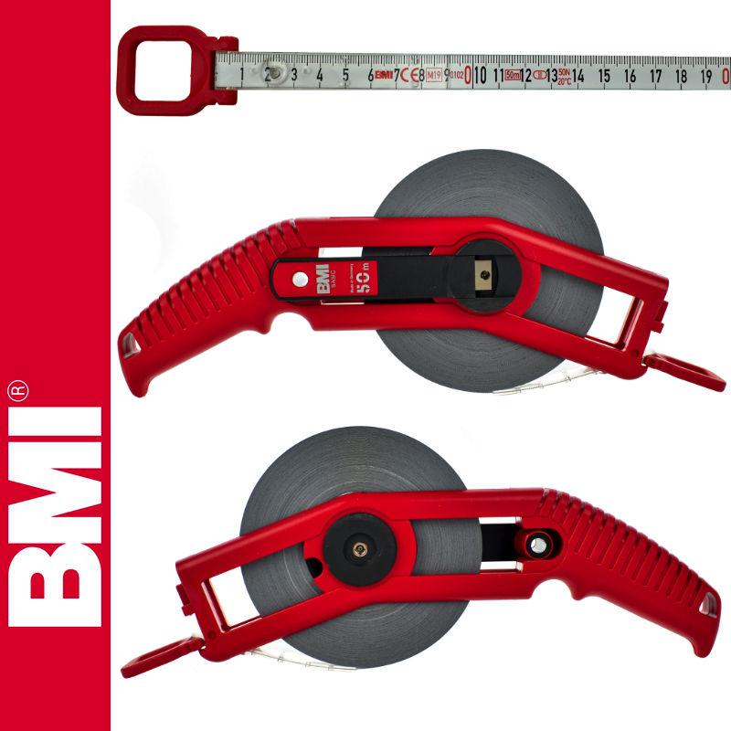 Taśma stalowa, lakierowana 50m WEISSLACK BASIC BMI