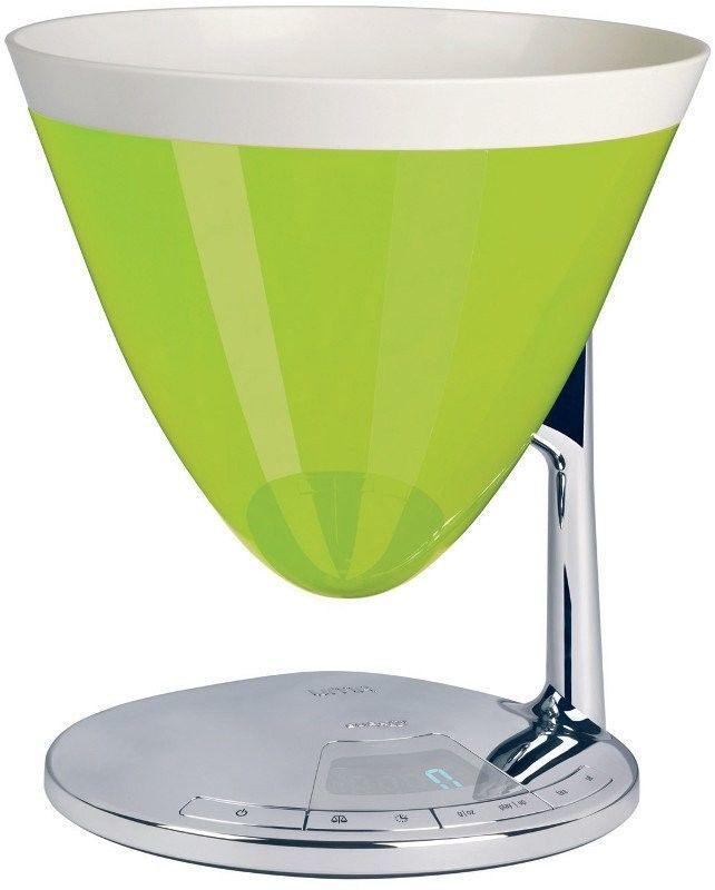Casa bugatti - uma elektroniczna waga - zielona - zielony