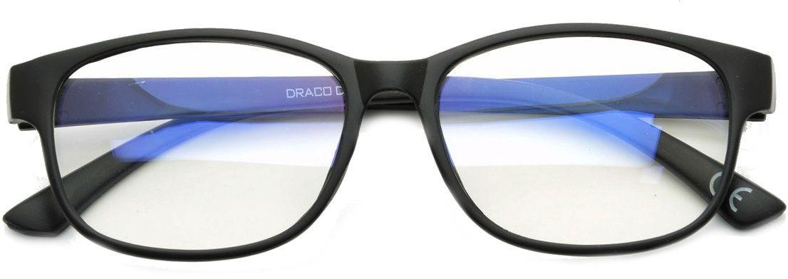 Okulary z filtrem Antyrefleksyjne zerówki a''la Nerdy DR-110-C3