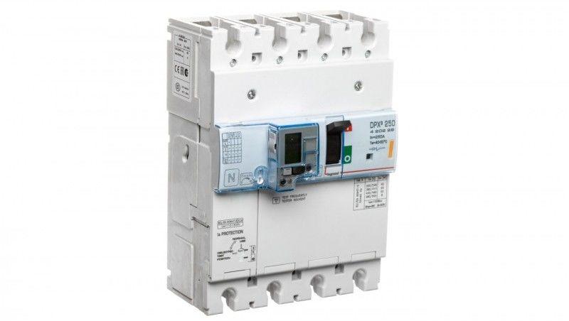 Wyłącznik z wyzwalaczem termiczno-magnetycznym 4P 250A 25kA DPX3 250+BL.R 420229