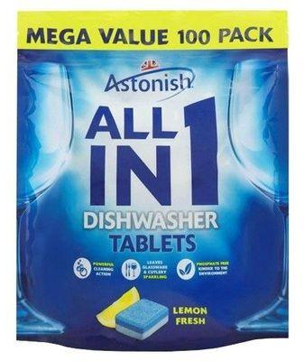 Astonish All In 1 Tabletki do zmywarki 100 szt lemon fresh