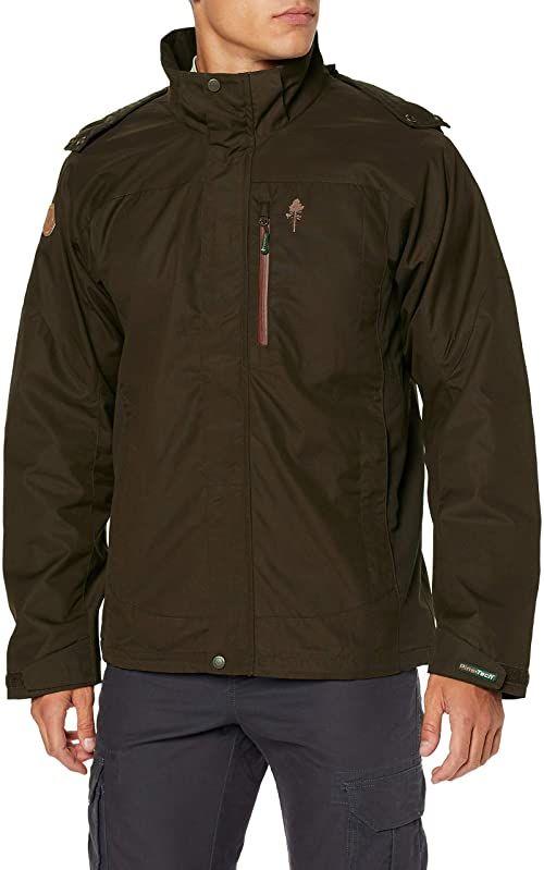 Pinewood Caribou TC ekstremalna kurtka męska, zamszowa brązowa/ciemna miedź, XXL